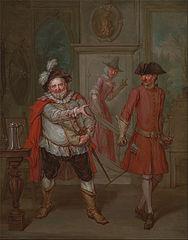 Scene from Shakespeare's \