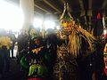 Mardi Gras under Claiborne Overpass Bead Indians 2014.jpg