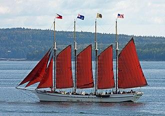 Margaret Todd (schooner) - Image: Margaret Todd under sail (4005478541)