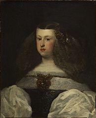 Dona Mariana of Austria, Queen of Spain
