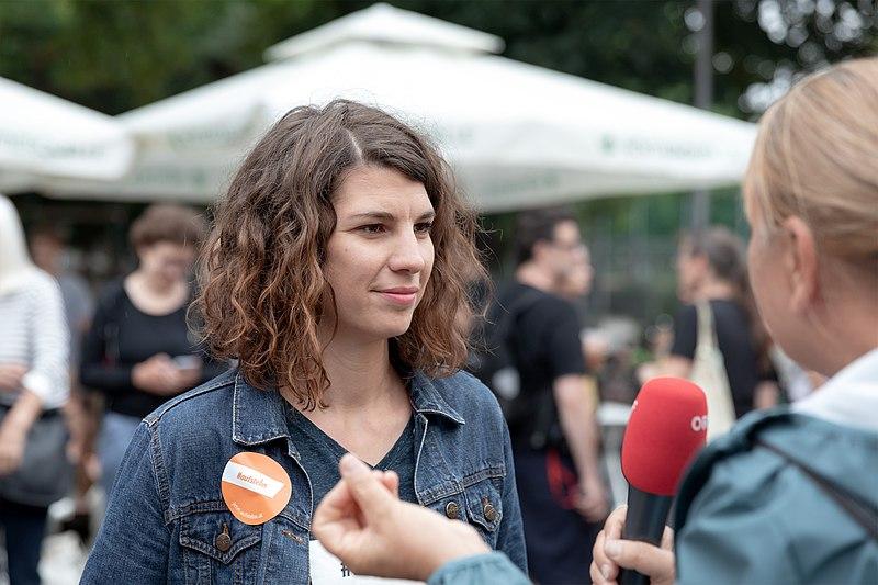 File:Maria Mayrhofer (Die öffentliche bessere Medienenquete, Wien 2018) a.jpg