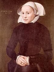 Portrait of Maria von Jever