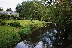 Alswear - Mariansleigh, River Mole at Alswear