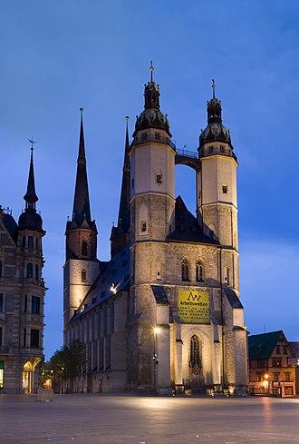 Marktkirche Unser Lieben Frauen - Marktkirche Unser Lieben Frauen celebrated its 450th anniversary in 2004.