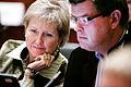 Marion Pedersen (V) och Mogens Jensen (S) vid Nordiska Radets session i Helsingfors. 2008-10-26.jpg