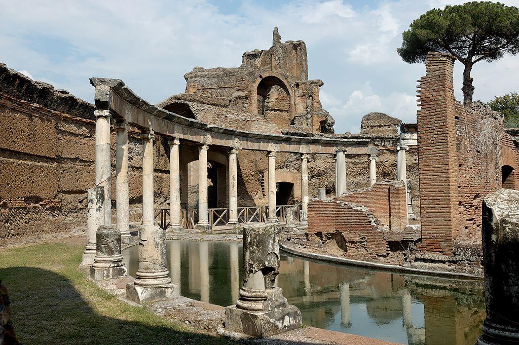Villa Adriana Tivoli Descrizione