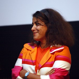 Persepolis (comics) - Marjane Satrapi at the premiere of the film version of Persepolis