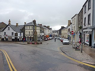 Ulverston town in England, in region North West England, in the county of Cumbria