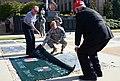 Mars Tack Force dedicates Memorial Stone on Fort Bragg (7996214303).jpg