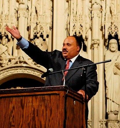 Martin Luther King, III 2007 NYC crop