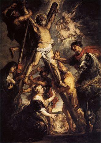 National symbols of Romania - Image: Martyre de saint André par Rubens