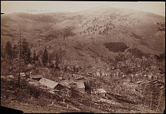 nearby town of Marysville c. 1890