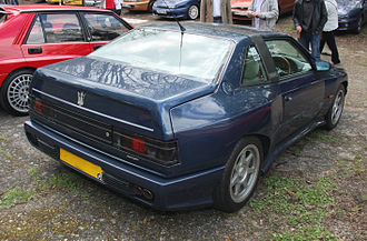 Maserati Shamal - Rear view of a Shamal
