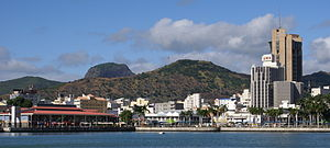 Port-Louis (Mauritius) waterfront