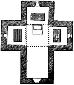 Mausoleum of Galla Placidia. Plan.jpg