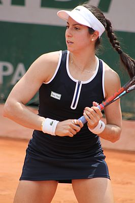 Winnares in het enkelspel, Christina McHale