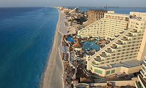 The Real World: Cancun - The ME Cancun hotel, where the cast resided.
