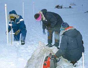 Measurement of sea ice - Measuring Sea Ice Mass Balance