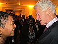 Meeting between Hon. Samia Nkrumah and President Bill Clinton.jpg