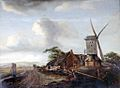 Meindert Hobbema. Landscape with a windmill (17th century).jpg