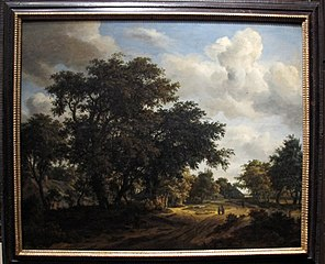 Landscape with a Wooded Road