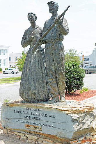 Sons of Confederate Veterans - Memorial erected by the SCV in Baxley, Georgia