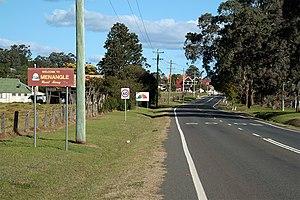 Menangle, New South Wales - Entrance to Menangle village