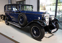 Mercedes-Benz Nürburg 460 1929
