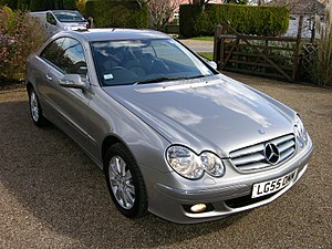 Mercedes Benz CLK 200 Kompressor - Flickr - The Car Spy (19).jpg