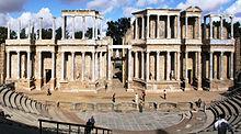 Teatro romano di Mérida, Badajoz.