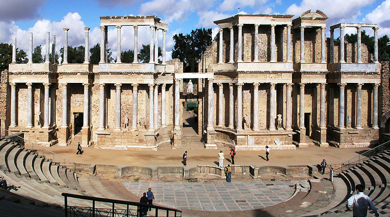 ملف:Merida Roman Theatre1 cropped revised.jpg