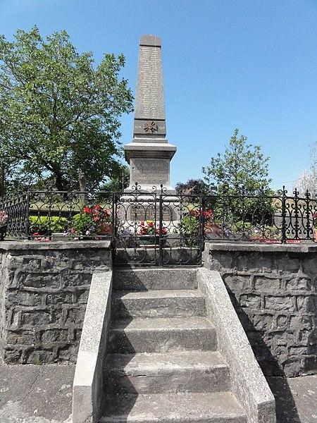Merviller (M-et-M) monument aux morts war memorials in meur