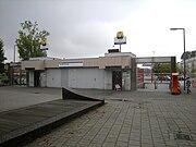 Ingang metrostation Gerdesiaweg.