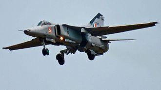 No. 18 Squadron IAF - MiG-27 from No.18 Squadron, Kalaikunda