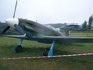 Mikoyan-Gurevich MiG-3 - A MiG-3 mockup at Central Air Force Museum in Monino. Note the unusual low canopy.