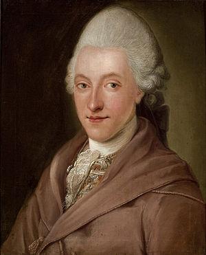 Benjamin Calau - Portrait of Johann Benjamin Michaelis by Benjamin Calau, Gleimhaus, 1770
