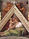 Michelangelo, antenati di cristo, 04.jpg