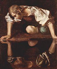 Narcisse, par Le Caravage (v.1595)