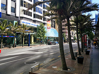 Queen Street, Auckland - A section of Queen Street following the 2006–2008 upgrade.