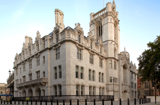 Supreme Court of the United Kingdom - The Middlesex Guildhall in London is the location of the Supreme Court