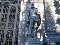 Miguel de Cervantes at the National Library Spain.jpg