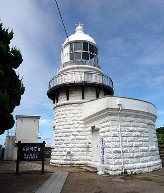 Miho Bay - Mihonoseki Lighthouse at the tip of Cape Jizō
