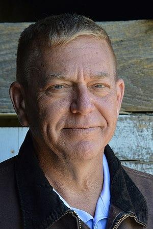 Mike Broihier, farmer, teacher, retired Marine corps officer, at his Chicken Bristle farm (cropped).jpg