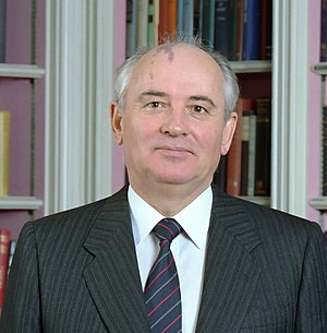 Dissolution of the Soviet Union - Mikhail Gorbachev in 1987