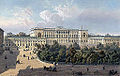 Mikhailovskaya square (Arts Square) and the Mikhailovsky Palace in St. Petersburg in the 19th century.jpg
