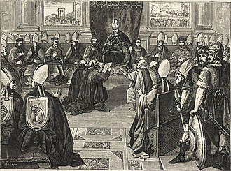 Council of Vienne - Image: Military and religious life in the Middle Ages and at the period of the Renaissance (1870) (14781914891)