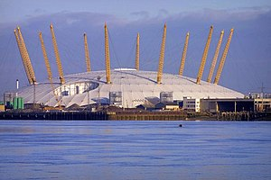 Marco Goldschmied - Image: Millennium Dome From Thames Path geograph.org.uk 232071