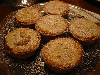 Mince pies, Christmas 2005.