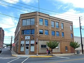 Minersville, Pennsylvania - Minersville Borough Office on Sunbury Street.