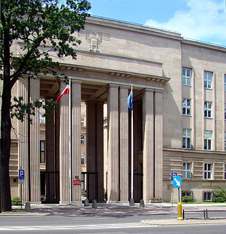Ministry of National Education (Poland) - The seat of the Ministry of National Education